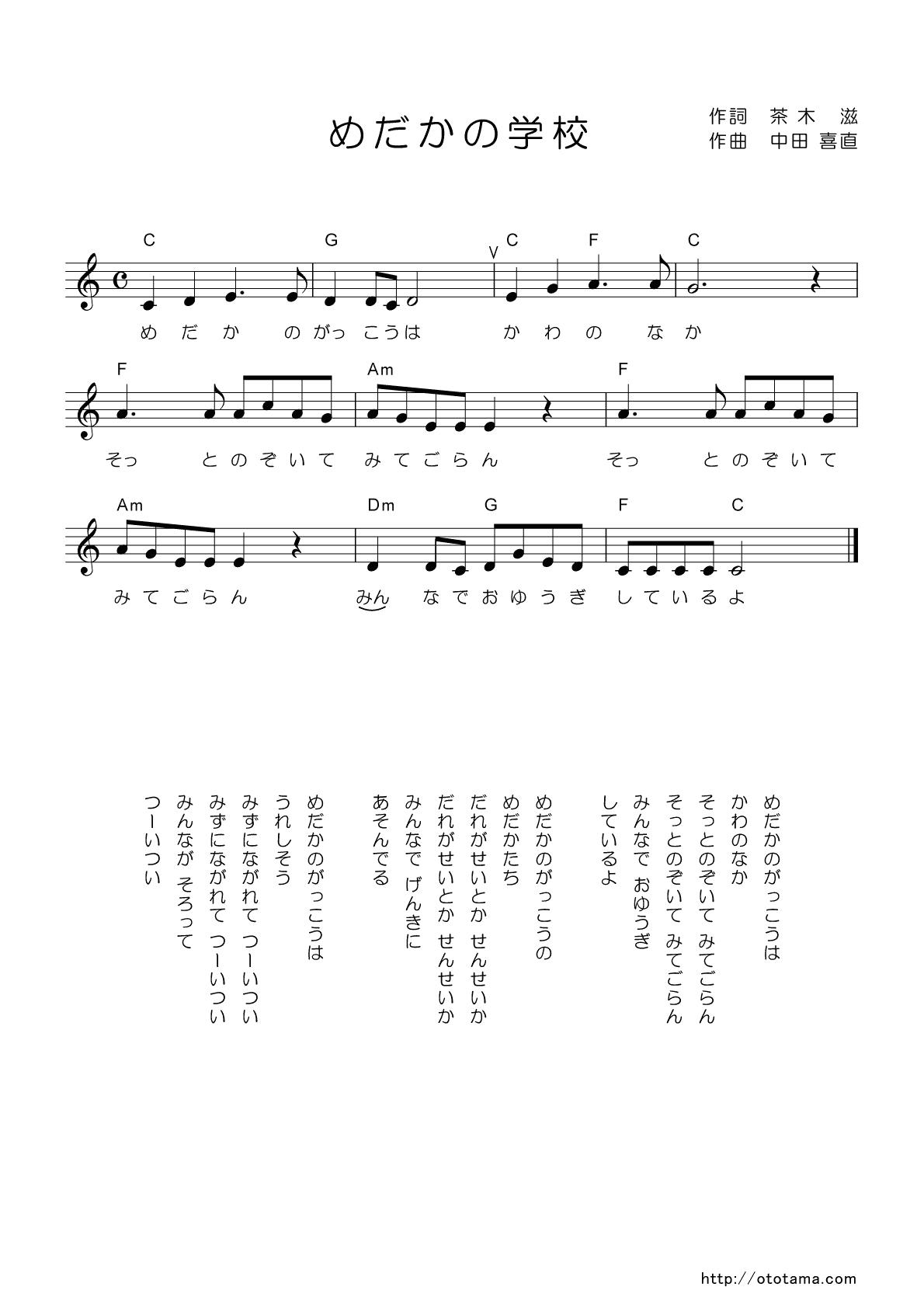 の ドレミ カエル 歌